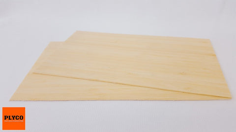Plyco's Bamboo Laser grade plywood (Natural Colouring)