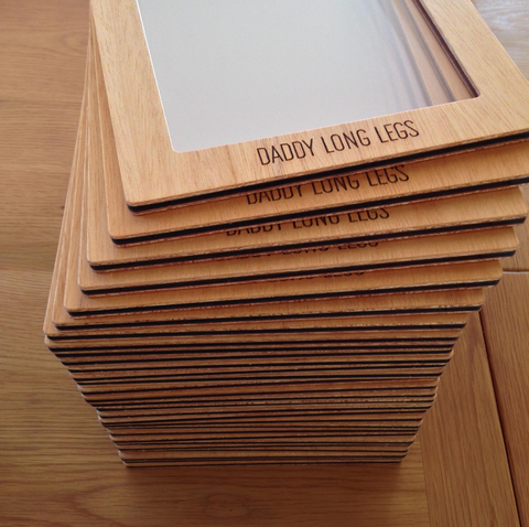 Menu Frames created by Andrew Elliot Design with Plyco Plywood