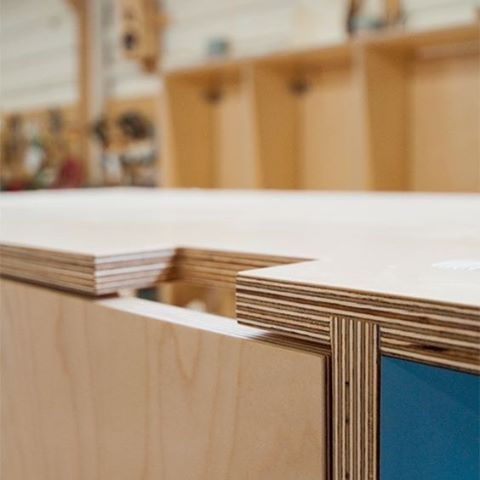 Premium Birch Plywood Tabletop