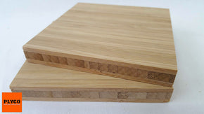 An image of Plyco's Narrow Grain Carbonised Bamboo Plywood