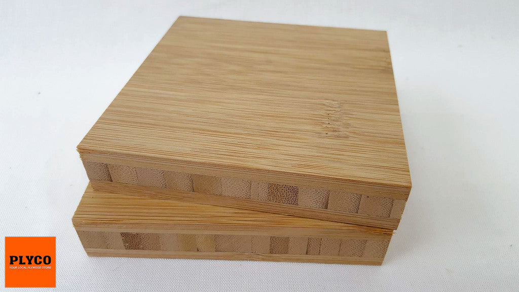 An image of Plyco's Wide Grain Carbonised Bamboo Plywood