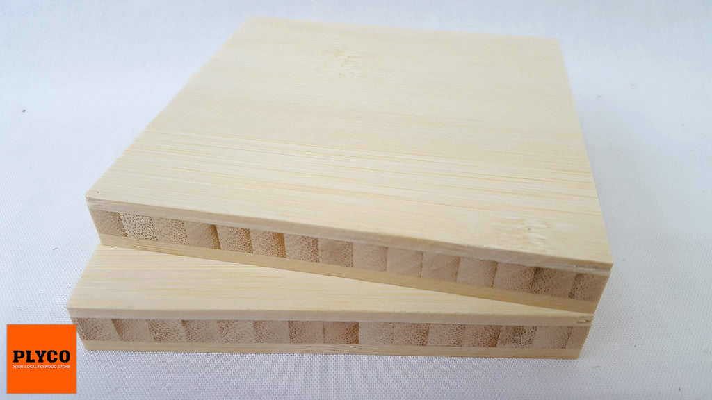 An image of Plyco's Wide Grain Natural Bamboo Plywood
