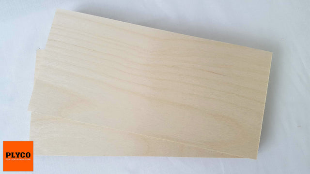Plyco's Birch Laser Grade Plywood Craft Panels