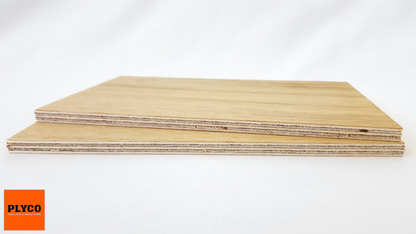 An image of Plyco's Tasmanian Blackwood natural timber veneer pressed on Birch Plywood