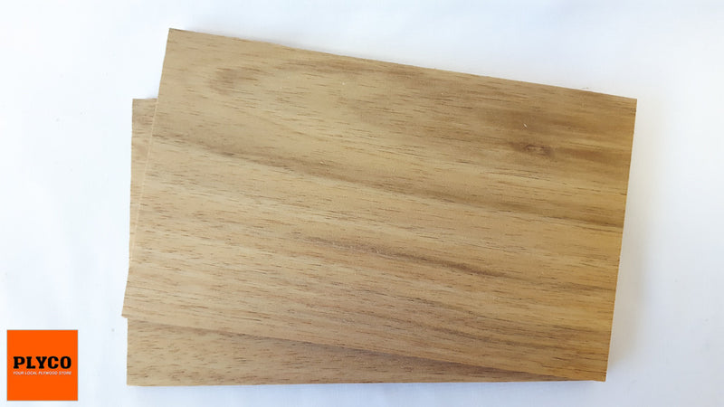 An image of Plyco's Tasmanian Blackwood timber veneer on Particle Board