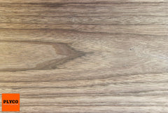 Image of 18mm Wide Leaf American Walnut Timber Veneer MDF available at Plyco.