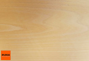 An image of Plyco's European Beech timber veneer on Particle Board