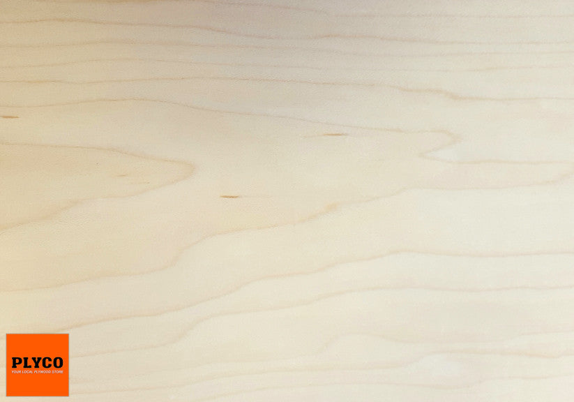 An image of Plyco's Rock Maple timber veneer on Particle Board