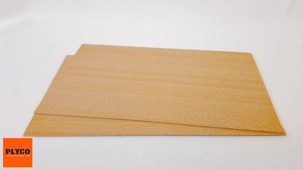 Image of Plyco's European Beech Laser Plywood