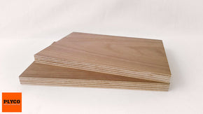 Image of Natural American Walnut timber veneer pressed on Birch Plywood