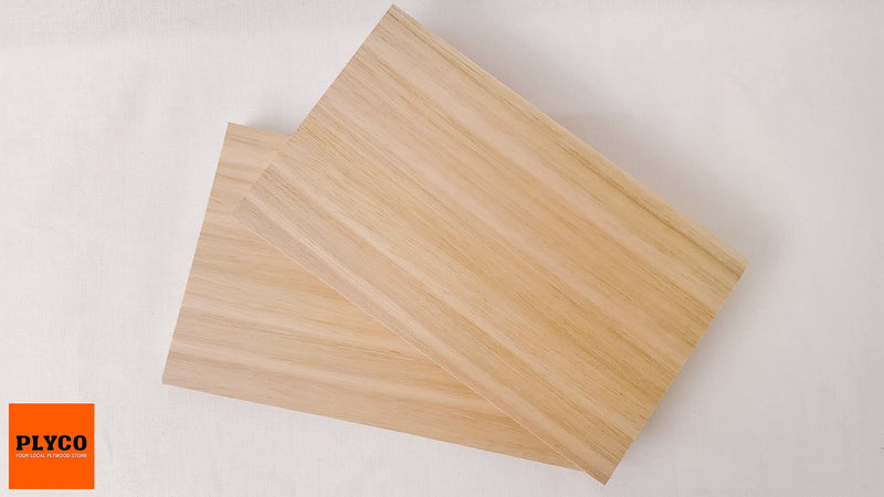 An image of Plyco's Tasmanian Oak timber veneer on Particle Board