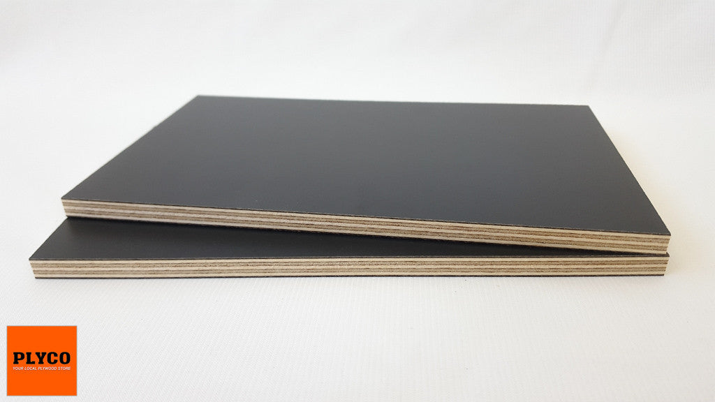 An image of Plyco's Decoply Charcoal on Birch Plywood