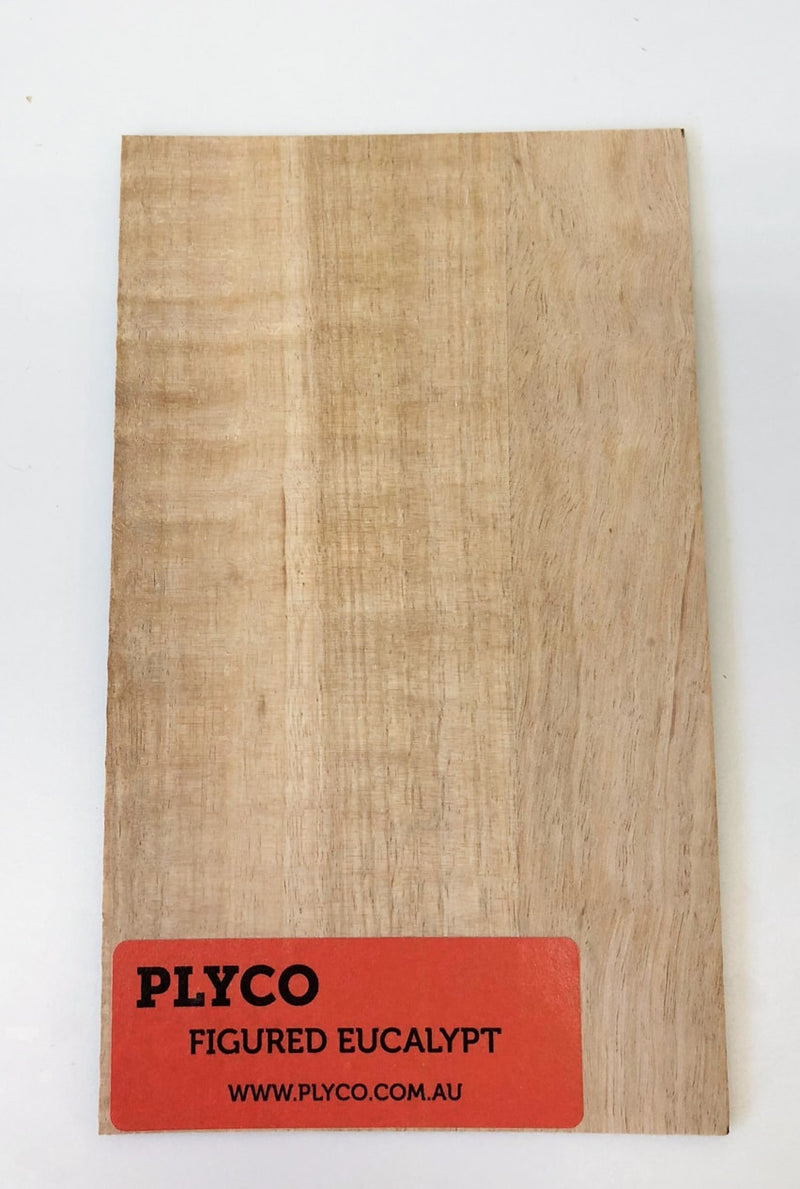 Figured Eucalypt Laminato Plywood Laminate available at Plyco