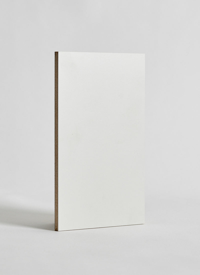 Plyco's 18mm Cloud Decoply plywood panel on a white background