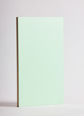 Plyco's Mint Decoply laminated plywood on a white background