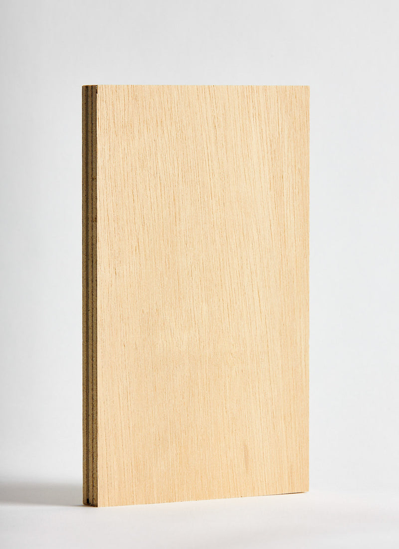 Plyco's 15mm Hardwood Exterior Plywood on a white background