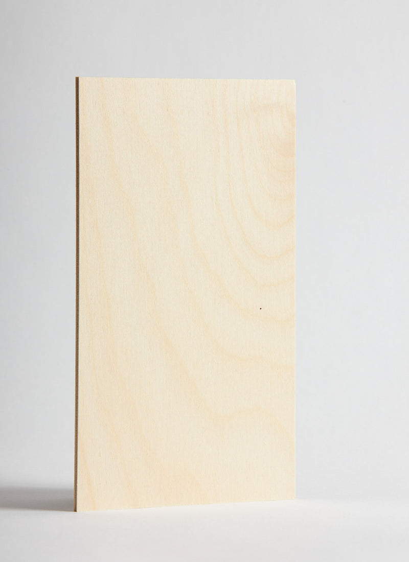 Plyco's Birch 3mm Laserply on a white background