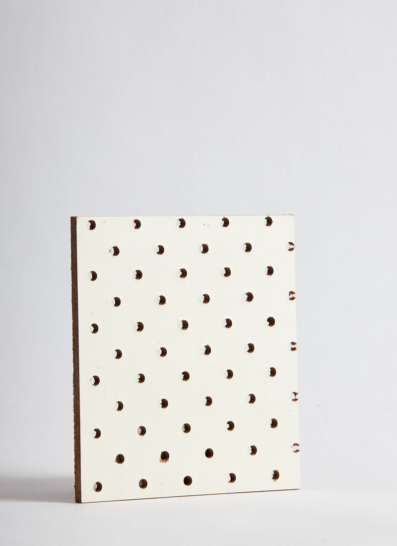 Plyco's 4.8mm Pegboard on a white background
