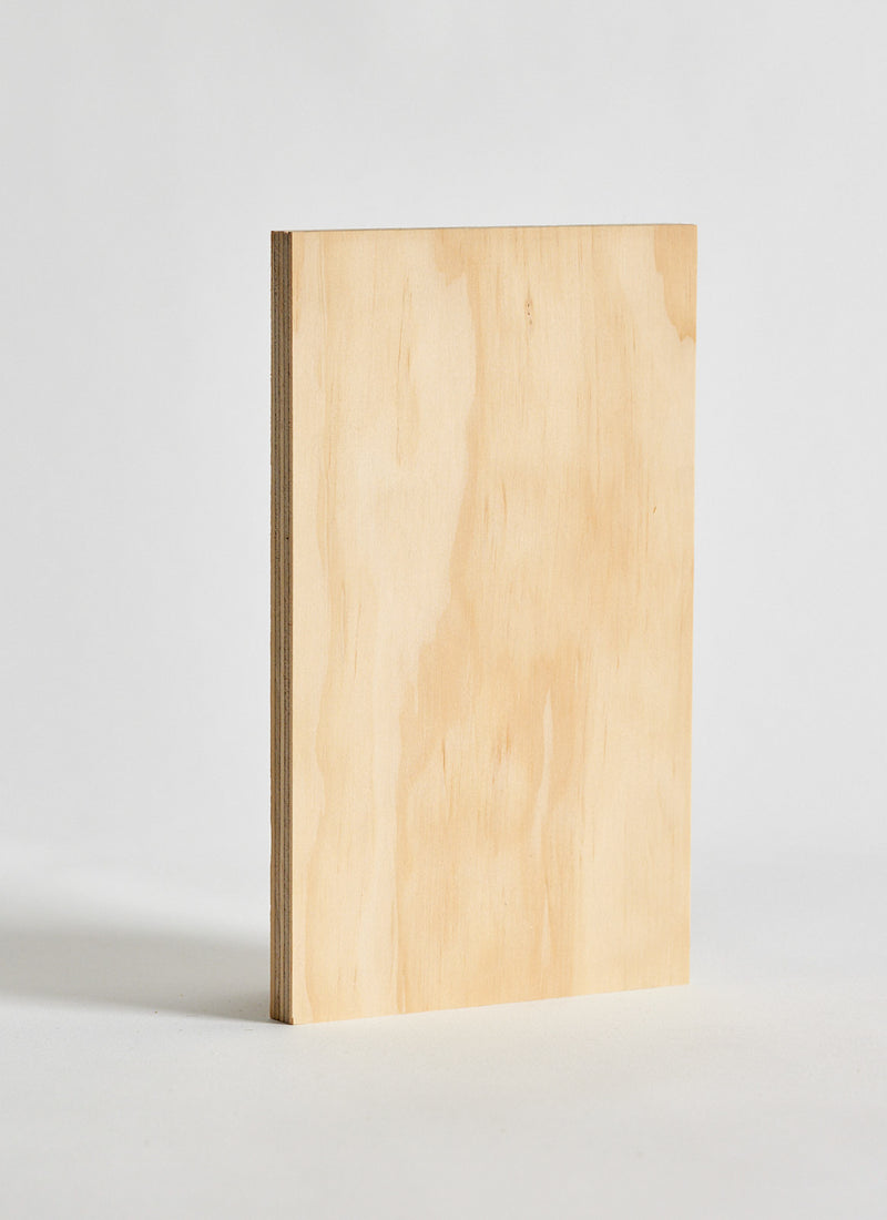 Plyco's Classic Pinoli (Classic/Natural) timber wall panel on a white background