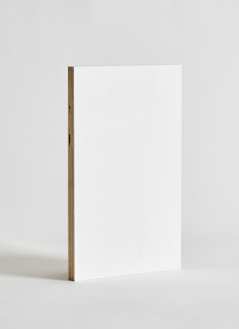 Plyco's Classic Pinoli (Classic/Primed) timber wall panel on a white background