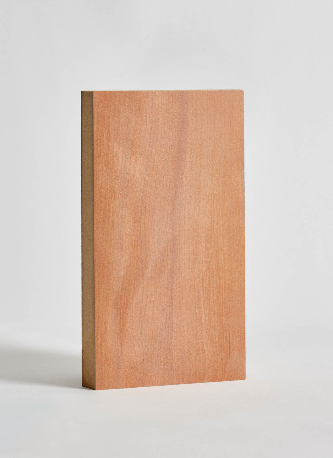 --Plyco's Myrtle Veneered MDF on a white background--