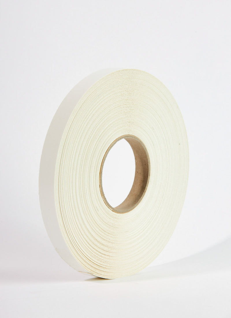 Plyco's White Melamine Edging on a white background