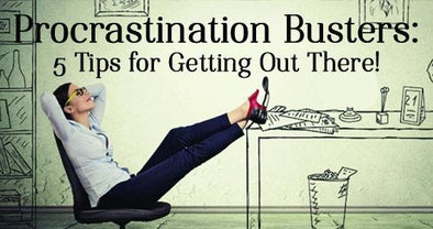 Procrastination Busters: 5 Tips for Getting Out There! | Classy Pal