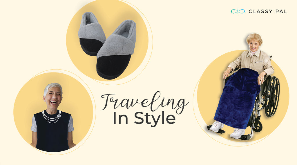 Traveling In Style: Look & Feel Your Best Wherever You Go - Elderly Fashion Edition