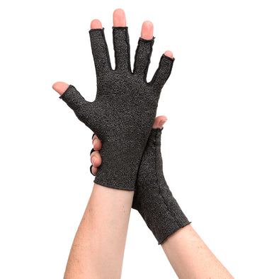 Gray Arthritis Compression Gloves - Classy Pal Arthritis Glove