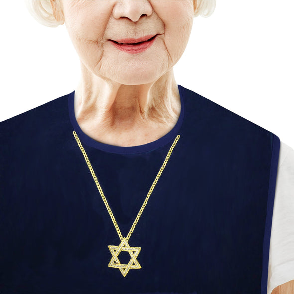 Women's Dress 'n Dine™ Adult Bib Star of David