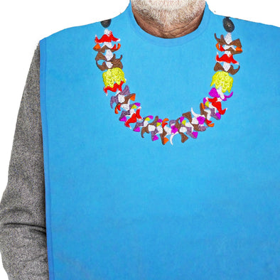 Women's & Men's Dress 'n Dine™ Adult Bib Lei