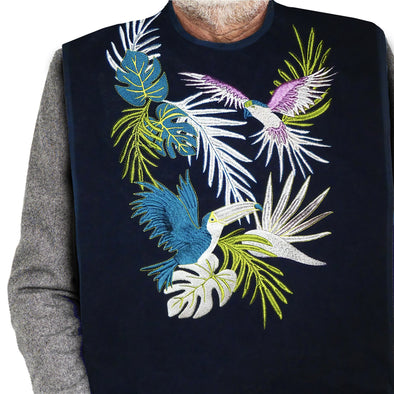 Women's & Men's Dress 'n Dine™ Adult Bib Tropical - Classy Pal Dress 'n Dine Adult Bibs