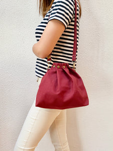 Button Fuji bag - Red