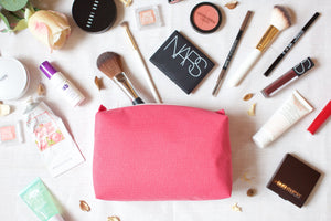 LM29 - Large boxy water resistant makeup bag