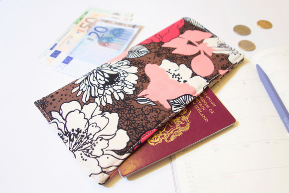 Functional fabric travel wallet - PP21