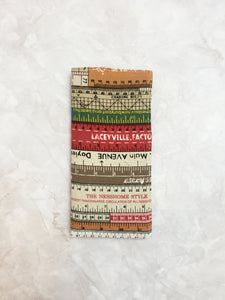 Functional fabric travel wallet - PP40