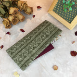 Functional fabric travel wallet - PP26
