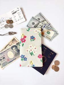 Functional fabric travel wallet - PP47