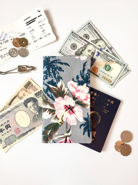 Functional fabric travel wallet - PP46