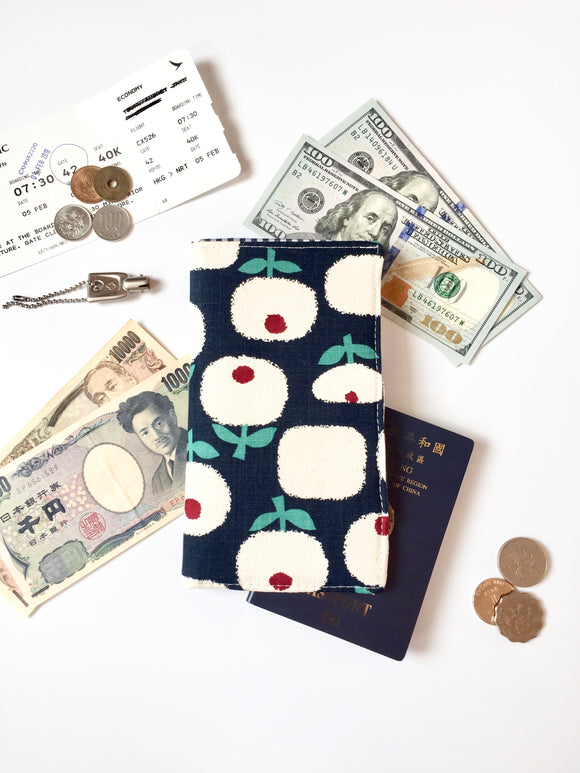 Functional fabric travel wallet - PP45
