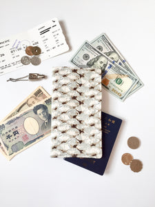 Functional fabric travel wallet - PP44