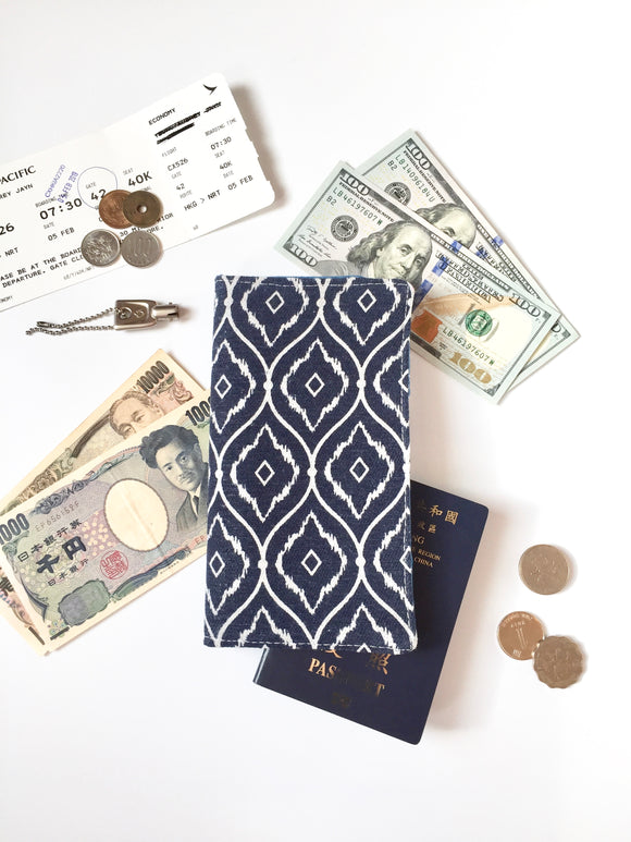 Functional fabric travel wallet - PP43