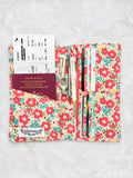 Functional fabric travel wallet - PP50