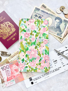 Functional fabric travel wallet - PP49