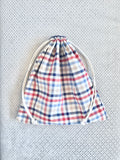 Reversible drawstring bag