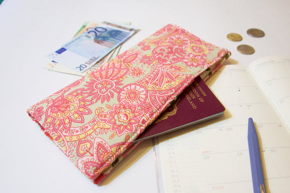 Functional fabric travel wallet - PP14