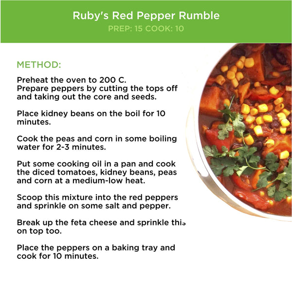 Ruby's Red Pepper Rumble – DoddleBags
