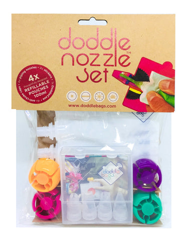 NEW! DoddleNozzle set - DoddleBags Food Pouches