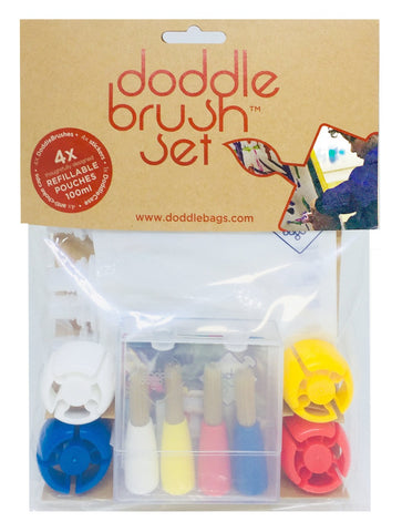 NEW! DoddleBrush Set - For Arts and Crafts - DoddleBags Food Pouches