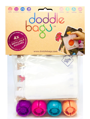NEW! DoddleBags x 4 - DoddleBags Food Pouches